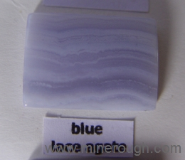 blue lace agate sample